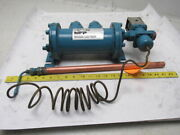 Michigan Fluid Power Eks-708-t-r Shell And Tube Heat Exchanger W/thermostat 4 X8
