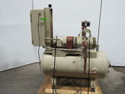 Squire Cogswell Atm-5565-3d-60g 3hp Vacuum Pump Gast 5565-v4 125gal Tank 3ph