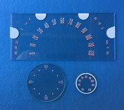 1938 Buick Lettered Speedometer/gaugeradioand Clock Glasses
