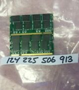 2gb= 2x 1gb Pc Ddr Ddr1 Pc2700 Ddr1-333 2700 200pin Non-ecc 16chips Double Sided