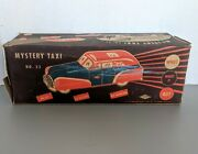 Vintage 1940s Mystery Taxi No. 33 Tin Toy Car Box Only Wolverine Supply And Mfg