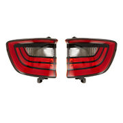New Pair Of Tail Lights Fits Dodge Durango Citadel Gt Limited 2014-17 68272126aa