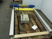 Rytec Clean Room 40w X60h Fabric Roll-up Overhead Door W/controller 230v 3ph
