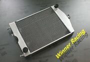 Aluminum Radiator Fit Ford 2n/8n/9n Tractor With Chevy 350 V8 5.7l Engine
