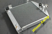 Radiator Fit Ford Hot Rod Chopped W/ford 302 V8 Engine 1931-32 Grille Shell