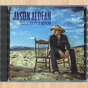 Jason Aldean They Don't Know 312 Promo Cd Single             0718