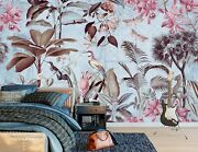 3d Leaves Bird G245 Wallpaper Mural Self-adhesive Removable Andrea Haase Honey