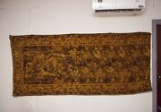 Vintage French Wall Hanging Antique Tapestry Home Decor Large Size 109x48inches