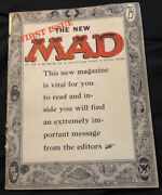 First Issue The New Mad Magazine 1955