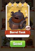 Barrel Tank Coin Master Card 14 For Sale Get Them While They Last 1=3