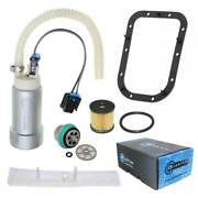Intank Fuel Pump W/reg Seal And Filter For Harley-davidson Fat Boy Lo / S 2010-17