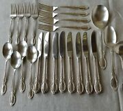 Vintage Rogers And Bros. Silver Plate Pattern Royal Manor Mixed Lot Of 23