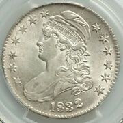 1832 50c Capped Bust Half Dollar Pcgs Au 58 Almost Uncirculated Small Letters