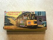 San Francisco Cable Car Friction 504 Bay And Taylor Sts Works And Original Box Nos