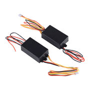 Pair 3-step Sequential Dynamic Chase Flash Tail Turn Signal Light Module Box Ms