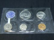 1955 Us Philadelphia Mint Coin Set W/ 3 90 Silver Coins In Original Packaging