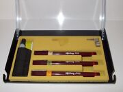 Rotring Rapidograph Technical Drawning Pen Set .20mm, .30mm, .50 New-in-box