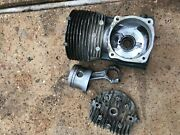 1981 Gamefisher 5hp Piston And Cylinder Assembly 217-585461