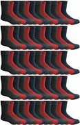 180 Pairs Case Of Thermal Socks Bulk Pack Thick Warm Winter Boot Sock, By Excell