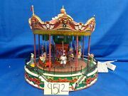 Lemax Village Collection Santa Carousel 34682 As-is Ss9512