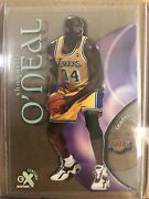 1999-2000 Shaquille Oand039neal Shaq 14 Skybox E-x Century Lakers Acetate Sharp