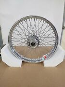 Early Big Dog Motorcycles 21 X 2.125 Chrome American Wire Wheel Harley 1989-93