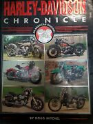 Harley-davidson Chronicle Hardcover Coffee Table Book By Doug Mitchel Motorcycle