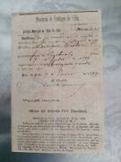 1899 Doc Us Military Occupationsigned 2x Times By Emilio Bacardi- General Wood