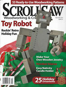 Scroll Saw Wood Working And Crafts Magazine Issue 41 Holiday 2010