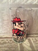 Vintage Pepsi Dudley Do Right Promotional Glass 1970's
