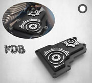 Fit H-d 2009-16 Trike Smashing Gear Contrast Cut Transmission Top Cover