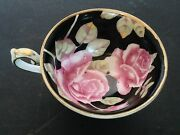Vintage Hand Painted Tea Cup And Saucer By Chugai - Occupied Japan