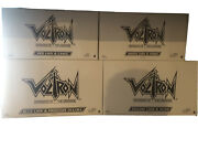 Mattel Voltron Classics Club Lion Force Black Red Blue Green Yellow And Sven Misb