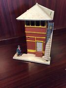 Plasticville 1814 Switch Tower Building Model Trains O Scale See Photo