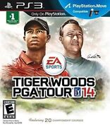 Ps3 Tiger Woods Pga Tour 13 And Tiger Woods Pga Tour 14 Sony Playstation