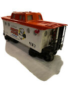 Vintage Lionel Mickey Mouse Express Caboose 6-9183 O Gauge 1977 Lighted