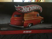 Rare New Collectors Hotwheels Delivery 20-car Set - 2 Milk Duds Mistake By Manu.
