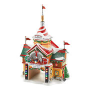 Department 56 North Pole The Cars Movie North Pole Rally Center Village
