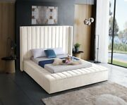 Meridian Kiki Contemporary King Storage Bed. Available In 6 Colors And 4 Sizes