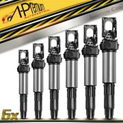 6x Ignition Coils For Bmw E46 323 325 328 330 335 525 528 530 I Xi X5 3.0l 2.5l