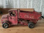 Vintage 1930and039s Arcade Coal Truck