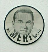 1968 Stand Up For America Wallace For President Vari-vue Pinback Button