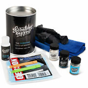 Exact-match Touch Up Paint Kit - Ford Bronze Fire Metallic Tinted Tricoat H9...