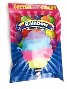 Rainbow Cotton Candy 6/ 3oz Bags
