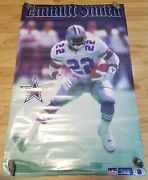 1993 Starline Emmitt Smith Top Dipace 22x34 Poster