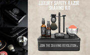 Shaving Razor Blades For Mens Grooming Products Precise And Clean Shave Gift Kit
