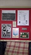 1923 Fa Cup Final Memorabilia With Genuine Coins From 1920's