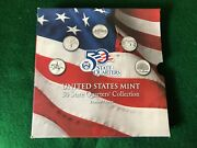 Limited Edition 50 State Quarters Collection By Us Mint 1999 Series - T