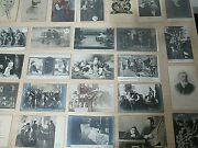 Rare Collection Of 26 Russian Antique Postcards, Politicians, Theater Etc. A