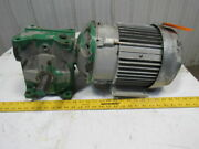 Grant Size 300 Style Stf 201 Ratio Worm Gear W/3hp Electric Motor 230/460v 3ph
